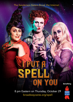 Todrick Hall, Eva Noblezada, Will Swenson and More Star in HOCUS POCUS Spoof Benefit Concert, I PUT A SPELL ON YOU