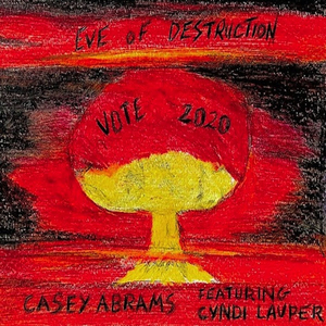 Casey Abrams Joins Voices with Cyndi Lauper on 'Eve of Destruction'