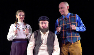 Centenary Stage Company's Fringe Festival Continues With TEVYE SERVED RAW: GARNISHED WITH JEWS OCTOBER