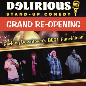 Don Barnhart, Kathleen Dunbar and Brandon James Return to Delirious Comedy Club
