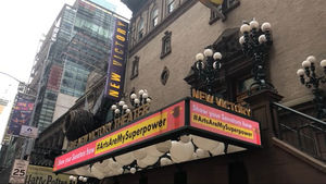 The New Victory Theater Shows Support for #ArtsAreMySuperpower With New Digital Marquee