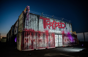 BWW Feature: TRAPPED BY HALLOWHEELS DRIVE-IN HAUNTED EXPERIENCE 'Terrorizes' at The Industrial Event Space