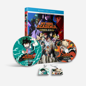 MY HERO ACADEMIA: HEROES RISING Available on Digital & DVD Oct. 27
