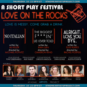 At Home Artists Project Presents Short PlayFest: LOVE ON THE ROCKS