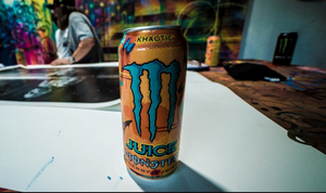 MONSTER ENERGY and Legendary Street Artist Risk Create A Juice Monster 'Khaotic' Inspired Car To Give Away