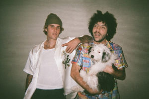 Justin Bieber and benny blanco Debut 'Lonely'
