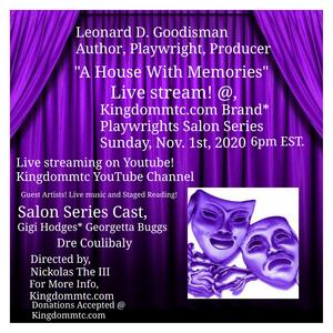 Kingdommtc Announces Virtual Playwrights Salon Series