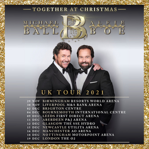 Michael Ball and Alfie Boe Announce Holiday Album and 2021 UK Tour