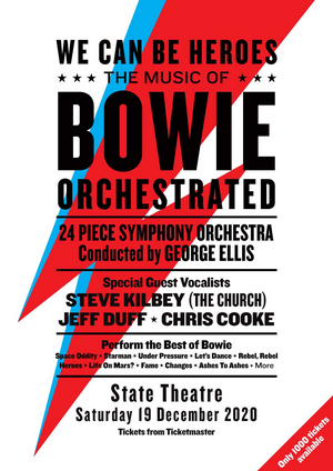 David Bowie Tribute WE CAN BE HEROES Comes to State Theatre
