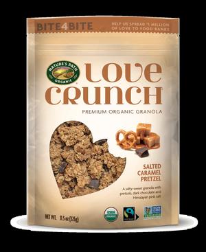 LOVE CRUNCH Debuts Salted Caramel Pretzel Granola