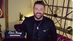 Chris Young Wins CMT Music Award For Emotional 'Performance Of The Year'