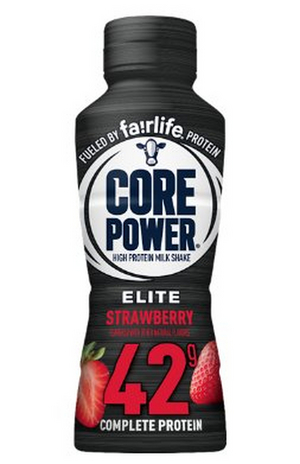 CORE POWER Adds Strawberry Flavor to Elite Line of High Protein Shakes