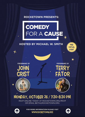 Michael W. Smith's 'Comedy For A Cause' Charity Event Free & Open To The Public