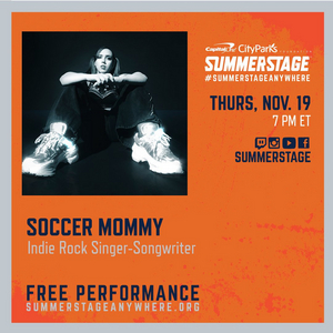 Soccer Mommy To Perform Live for SummerStage Anywhere on Nov. 19
