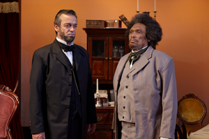 VIDEO: Abraham Lincoln and Frederick Douglas Face Off in Emotionally Charged Drama, NECESSARY SACRIFICES
