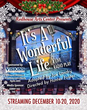 Redhouse Arts Center to Present IT'S A WONDERFUL LIFE Radio Play