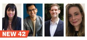 New 42 Appoints Tiffany Gardner, Sammy Lopez, Henry Tisch & Lucinda Zilkha to its Board of Directors