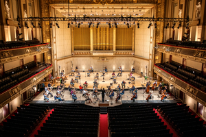 Boston Symphony Orchestra Returns to Symphony Hall for First Time Since Pandemic Performance Hiatus