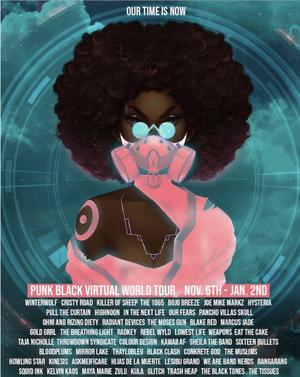 Lesibu Grand to Play PUNK BLACK Virtual World Tour