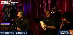VIDEO: SummerStage Anywhere Presents A Night with Grammy-Award Winning Salsero  Eddie Palmieri