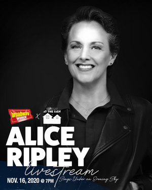 Holmdel Theatre Company to Present Virtual Concert of Tony Winner Alice Ripley