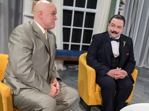 BWW Review: POIROT INVESTIGATES! at Open Stage
