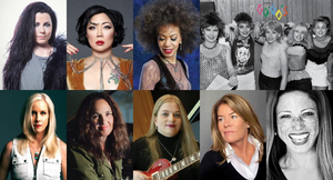 The Go-Go's, Cherie Currie, Cindy Blackman Santana, Amy Lee, & More Will Be Honored at the 2021 SHE ROCKS AWARDS