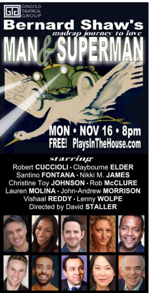 Lauren Molina Joins Robert Cuccioli, Claybourne Elder, Santino Fontana & More for MAN & SUPERMAN