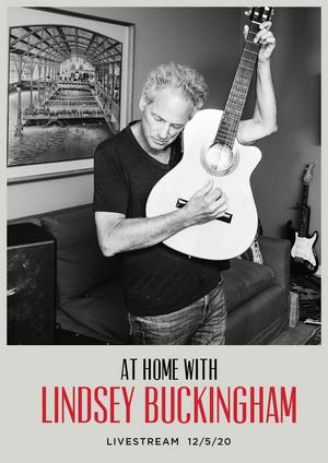 Lindsey Buckingham Announces 'At Home' Livestream