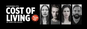 Live-Stream of READING OF COST OF LIVING 17TH OF NOVEMBER at Playhouse Teater