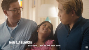 Raymond J. Lee and Family Featured in Pantene 'Family Is BeautifuLGBTQ' Campaign