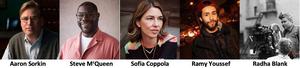 16th Annual FINAL DRAFT AWARDS Will Honor Aaron Sorkin, Sofia Coppola, Steve McQueen, Radha Blank & Ramy Youssef