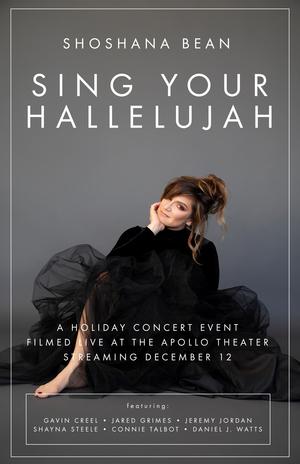 Gavin Creel, Jeremy Jordan & More Will Join Shoshana Bean for SING YOUR HALLELUJAH Concert