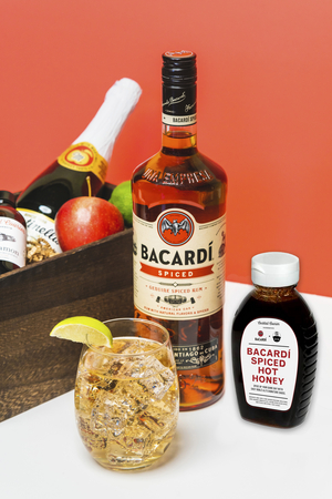 BACARDI Spiced Hot Honey and Spiced Up Cider Party Kit for Game Days and Holiday Festivities