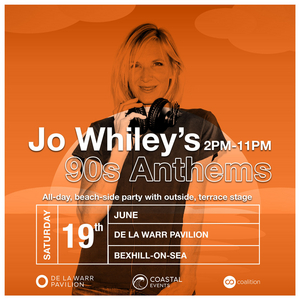 Jo Whiley Brings '90s Anthems Party to Bexhill