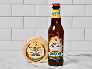 ANGRY ORCHARD and JASPER HILL FARM Debut a Special Cheese