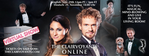 BWW Feature: THE CLAIRVOYANTS Online with Thommy Ten, Amelie van Tass and their dog Mr. Koni Hundini