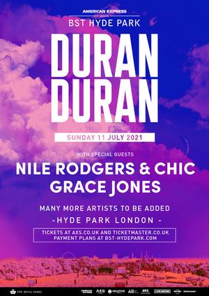Duran Duran Will Headline BST Hyland Park 2021