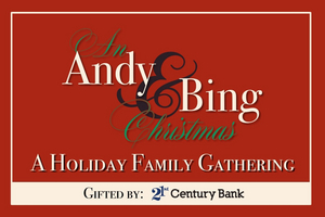 AN ANDY & BING CHRISTMAS: A HOLIDAY FAMILY GATHERING to Stream Live on Christmas Day