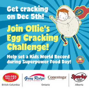 Ollie Club Invites Children Across Canada To Set A Kids World Record!