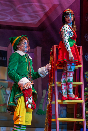BWW Review: ELF-THE MUSICAL at Dutch Apple Dinner Theatre