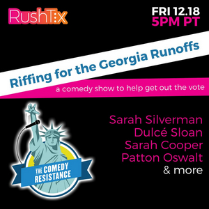 Sarah Silverman, Sarah Cooper, Patton Oswalt and More to Perform in Virtual Comedy Show for Georgia Runoffs