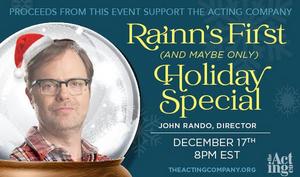 The Acting Company Announces Holiday Benefit With John Rando and Rainn Wilson