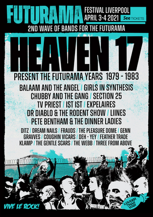 Legendary Post-Punk Festival Futurama Returns April 3rd