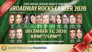 Shoshana Bean, Karen Olivo, Norbert Leo Butz, Lena Hall and More Join BROADWAY ROCKS CANCER 2020