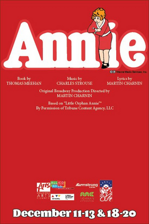 Sooner Theatre Will Present ANNIE This Holiday Season