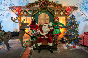BWW Feature: JOURNEY TO THE NORTH POLE at The Industrial Event Space Celebrates the Holidays