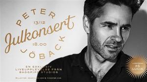 CHRISTMAS CONCERT WITH PETER JÖBACK 13 of December Live Stream