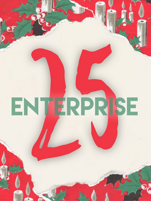 ENTERPRISE 25: An Instagram Cinematic Advent Calendar Counts Down the Days to Christmas