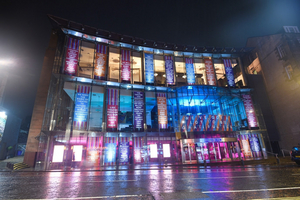 'Hanging by a Million Threads' - New Artwork by Sophie Fields Transforms Edinburgh's Festival Theatre